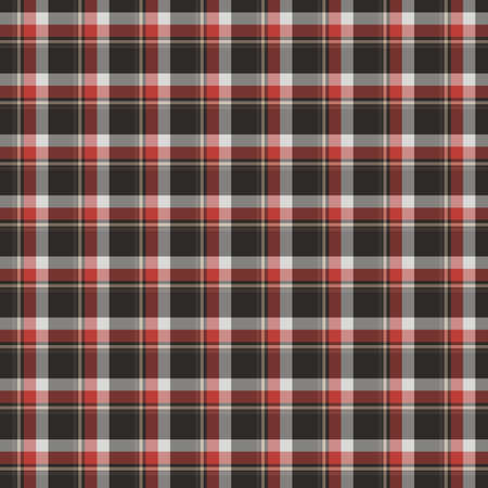 Tartan plaid pattern background. Texture for plaid, tablecloths, clothes, shirts, dresses, paper, bedding, blankets, quilts and other textile products. Vector illustration Zdjęcie Seryjne - 157371528