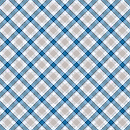 Tartan plaid pattern background. Texture for plaid, tablecloths, clothes, shirts, dresses, paper, bedding, blankets, quilts and other textile products. Vector illustration Zdjęcie Seryjne - 157371543