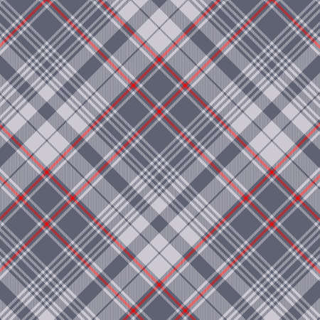 Tartan plaid pattern background. Texture for plaid, tablecloths, clothes, shirts, dresses, paper, bedding, blankets, quilts and other textile products. Vector illustration Zdjęcie Seryjne - 157371588