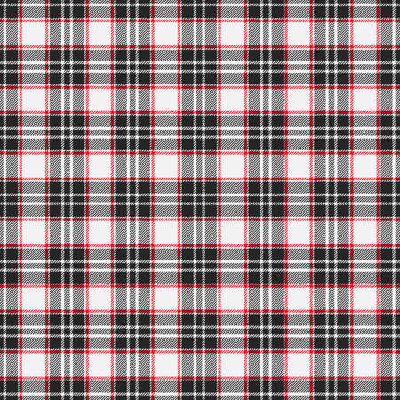 Tartan plaid pattern background. Texture for plaid, tablecloths, clothes, shirts, dresses, paper, bedding, blankets, quilts and other textile products. Vector illustration Zdjęcie Seryjne - 157371891