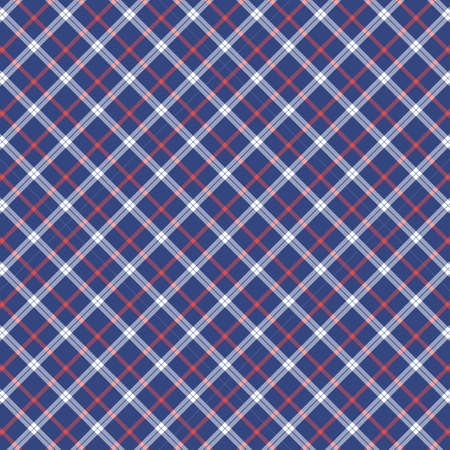 Tartan plaid pattern background. Texture for plaid, tablecloths, clothes, shirts, dresses, paper, bedding, blankets, quilts and other textile products. Vector illustration Zdjęcie Seryjne - 157371946