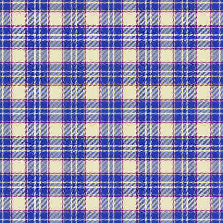 Tartan plaid pattern background. Texture for plaid, tablecloths, clothes, shirts, dresses, paper, bedding, blankets, quilts and other textile products. Vector illustration Zdjęcie Seryjne - 157371965