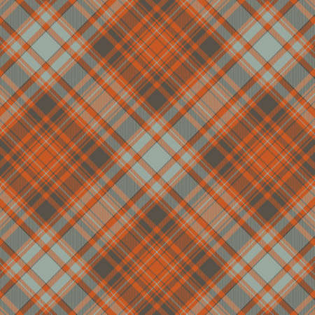 Tartan plaid pattern background. Texture for plaid, tablecloths, clothes, shirts, dresses, paper, bedding, blankets, quilts and other textile products. Vector illustration Zdjęcie Seryjne - 157371972