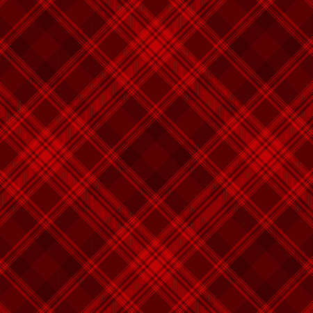 Tartan plaid pattern background. Texture for plaid, tablecloths, clothes, shirts, dresses, paper, bedding, blankets, quilts and other textile products. Vector illustration