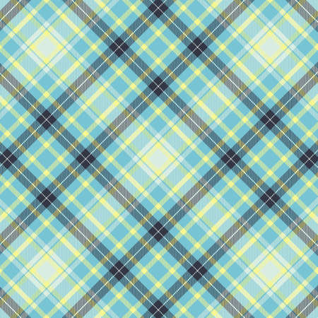 Tartan plaid pattern background. Texture for plaid, tablecloths, clothes, shirts, dresses, paper, bedding, blankets, quilts and other textile products. Vector illustration Zdjęcie Seryjne - 157371984