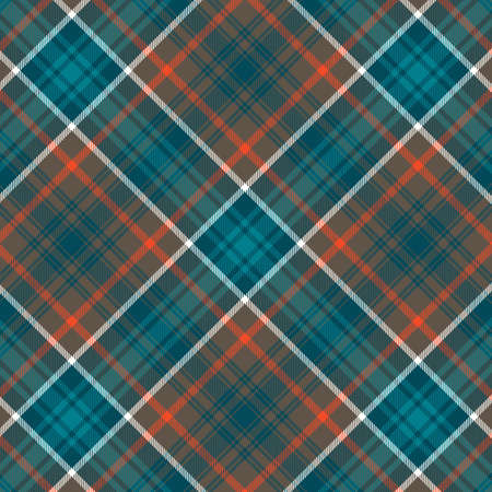 Tartan plaid pattern background. Texture for plaid, tablecloths, clothes, shirts, dresses, paper, bedding, blankets, quilts and other textile products. Vector illustration Zdjęcie Seryjne - 157372006