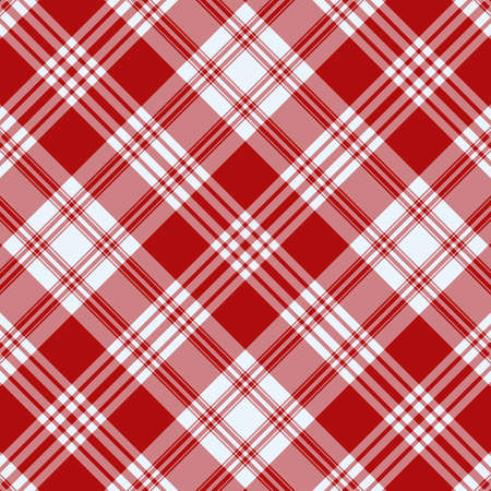Tartan plaid pattern background. Texture for plaid, tablecloths, clothes, shirts, dresses, paper, bedding, blankets, quilts and other textile products. Vector illustration EPS 10 Zdjęcie Seryjne - 158348329