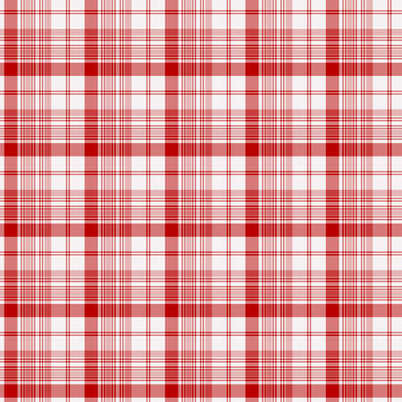 Tartan plaid pattern background. Texture for plaid, tablecloths, clothes, shirts, dresses, paper, bedding, blankets, quilts and other textile products. Vector illustration EPS 10 Zdjęcie Seryjne - 158348344