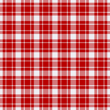 Tartan plaid pattern background. Texture for plaid, tablecloths, clothes, shirts, dresses, paper, bedding, blankets, quilts and other textile products. Vector illustration EPS 10 Zdjęcie Seryjne - 158348390