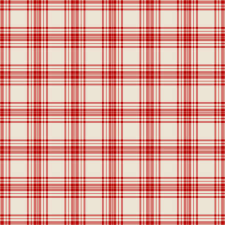 Tartan plaid pattern background. Texture for plaid, tablecloths, clothes, shirts, dresses, paper, bedding, blankets, quilts and other textile products. Vector illustration EPS 10 Zdjęcie Seryjne - 158348398