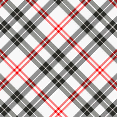 Tartan plaid pattern background. Texture for plaid, tablecloths, clothes, shirts, dresses, paper, bedding, blankets, quilts and other textile products. Vector illustration EPS 10 Zdjęcie Seryjne - 158348409