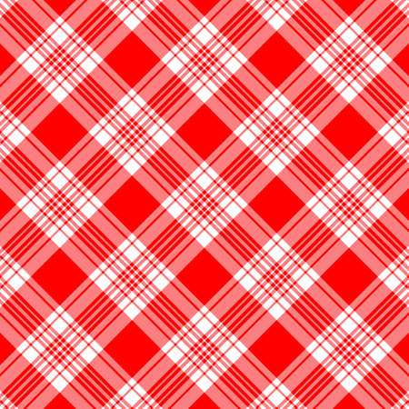 Tartan plaid pattern background. Texture for plaid, tablecloths, clothes, shirts, dresses, paper, bedding, blankets, quilts and other textile products. Vector illustration EPS 10 Zdjęcie Seryjne - 158348423