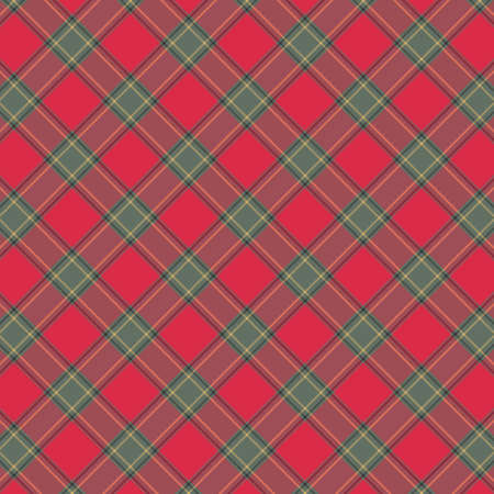 Tartan plaid pattern background. Texture for plaid, tablecloths, clothes, shirts, dresses, paper, bedding, blankets, quilts and other textile products. Vector illustration EPS 10 Zdjęcie Seryjne - 158348427