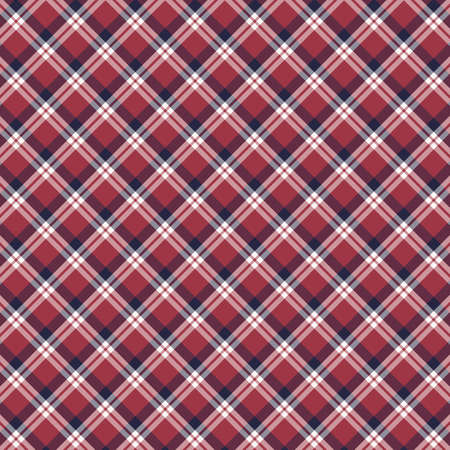 Tartan plaid pattern background. Texture for plaid, tablecloths, clothes, shirts, dresses, paper, bedding, blankets, quilts and other textile products. Vector illustration EPS 10 Zdjęcie Seryjne - 158348445