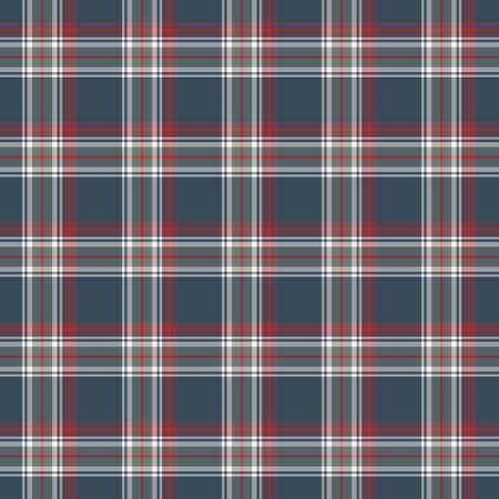 Tartan plaid pattern background. Texture for plaid, tablecloths, clothes, shirts, dresses, paper, bedding, blankets, quilts and other textile products. Vector illustration EPS 10 Zdjęcie Seryjne - 158348448