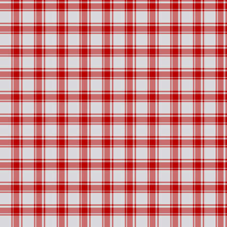Tartan plaid pattern background. Texture for plaid, tablecloths, clothes, shirts, dresses, paper, bedding, blankets, quilts and other textile products. Vector illustration EPS 10 Zdjęcie Seryjne - 158348474