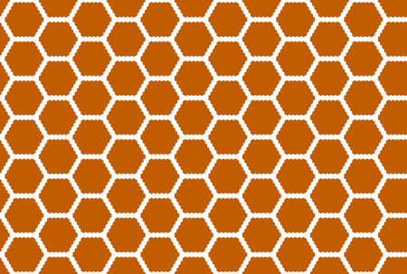 Seamless geometric pattern. Brown and white colors.