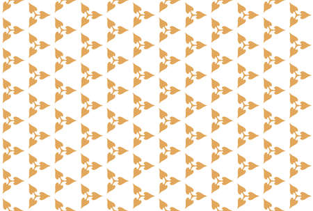Seamless geometric pattern. Brown colors on white background.