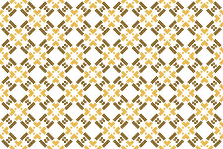 Seamless geometric pattern. Brown color tones on white background.