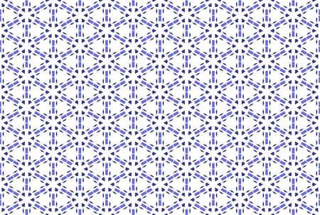 Seamless geometric pattern. Purple color tones on white background. 写真素材