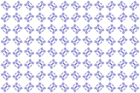 Seamless geometric pattern. Purple colors on white background. 写真素材