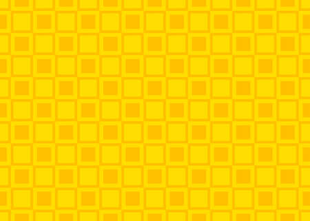 Seamless geometric pattern design illustration. In yellow colors.