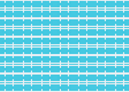 Seamless geometric pattern design illustration. Background texture. In blue and white colors. Stok Fotoğraf