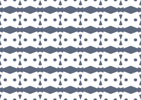 Seamless geometric pattern design illustration. Background texture. In white and blue colors.