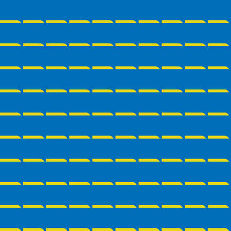 Vector seamless pattern texture background with geometric shapes, colored in blue and yellow colors.  イラスト・ベクター素材