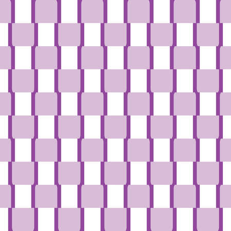Vector seamless pattern texture background with geometric shapes, colored in violet, purple and white colors.