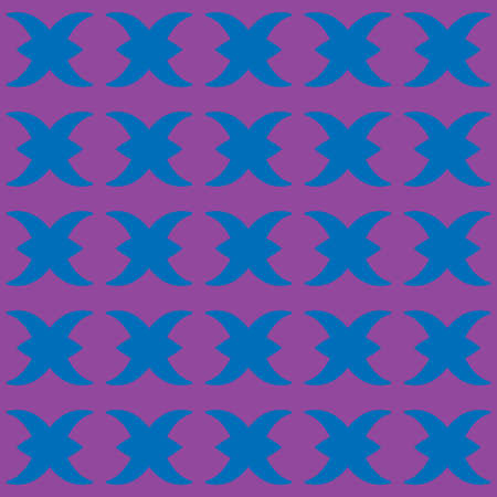 Vector seamless pattern texture background with geometric shapes, colored in blue, violet and purple colors.