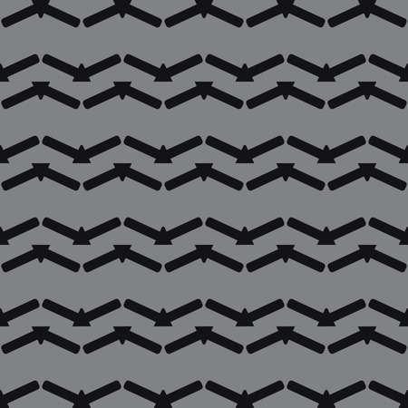 Vector seamless pattern texture background with geometric shapes in black and grey colors.  イラスト・ベクター素材