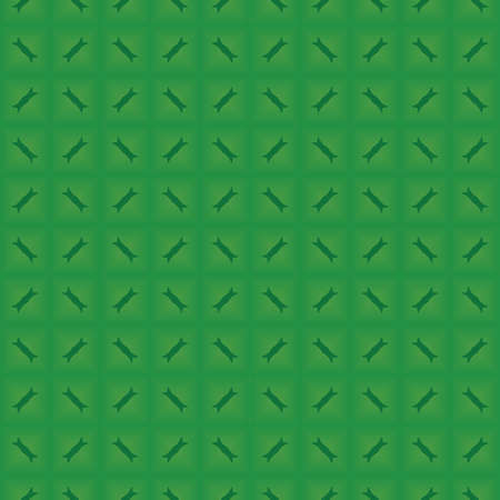 Vector seamless pattern texture background with geometric shapes, gradient colored in green colors.