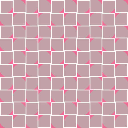 Vector seamless pattern texture background with geometric shapes, colored in violet, pink and white colors.