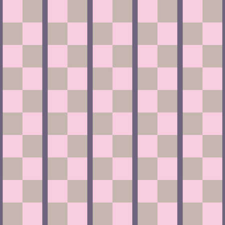 Vector seamless pattern texture background with geometric shapes, colored in violet and pink colors.