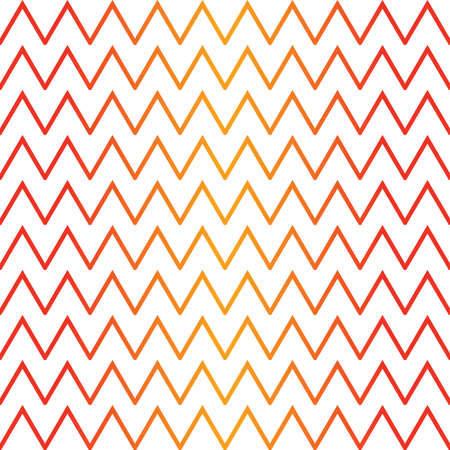 Vector seamless pattern texture background with geometric shapes, colored in red, orange and white colors.