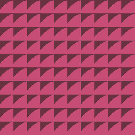 Vector seamless pattern texture background with geometric shapes, colored in red colors.