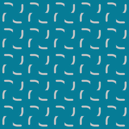 Vector seamless pattern texture background with geometric shapes, colored in blue and grey colors. Illustration
