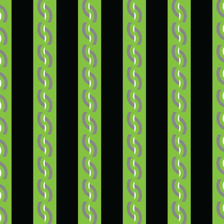 Vector seamless pattern texture background with geometric shapes, colored in black, green, grey and white colors. Иллюстрация