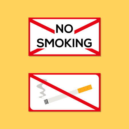 No smoking plate