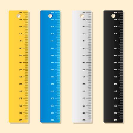 Ruler-Blue-Yellow-White-Black