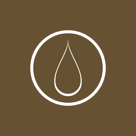 water drop icon and symbol