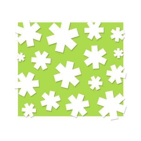 White stars, background illustration Stock Vector - 14329271