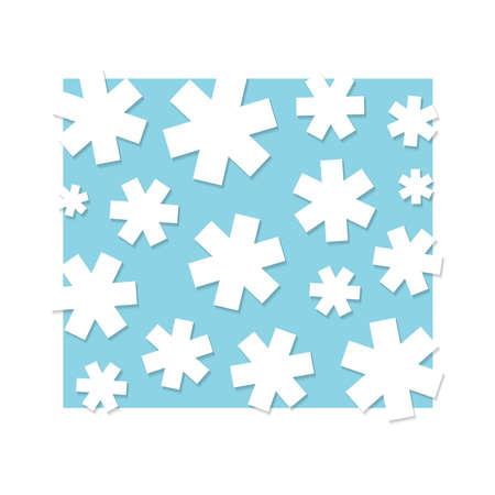 White stars, background illustration Stock Vector - 14414834