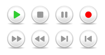 Sound controls, buttons