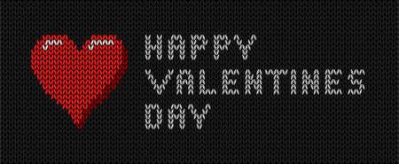 st valentine: Deseos de punto a St Valentine Vectores