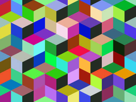 Geometric abstract  pattern, seamless vector background