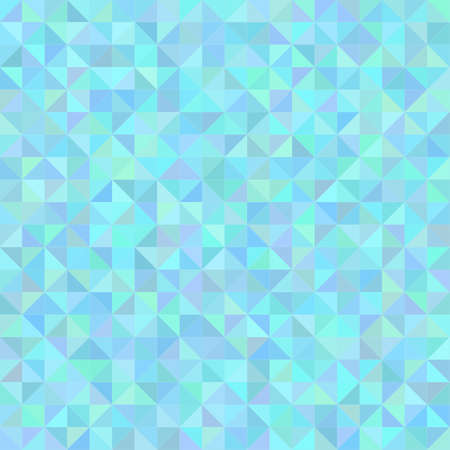 Abstract seamless background with blue triangles, vector illustration