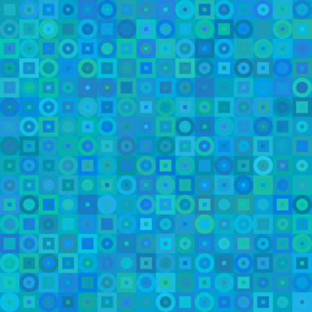Blue abstract background, seamless pattern, vector illustration Illustration