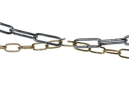 security gap: Weak link concept